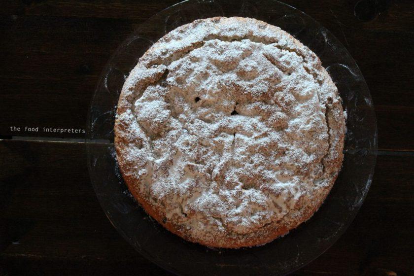 fanouropita, vegan cake