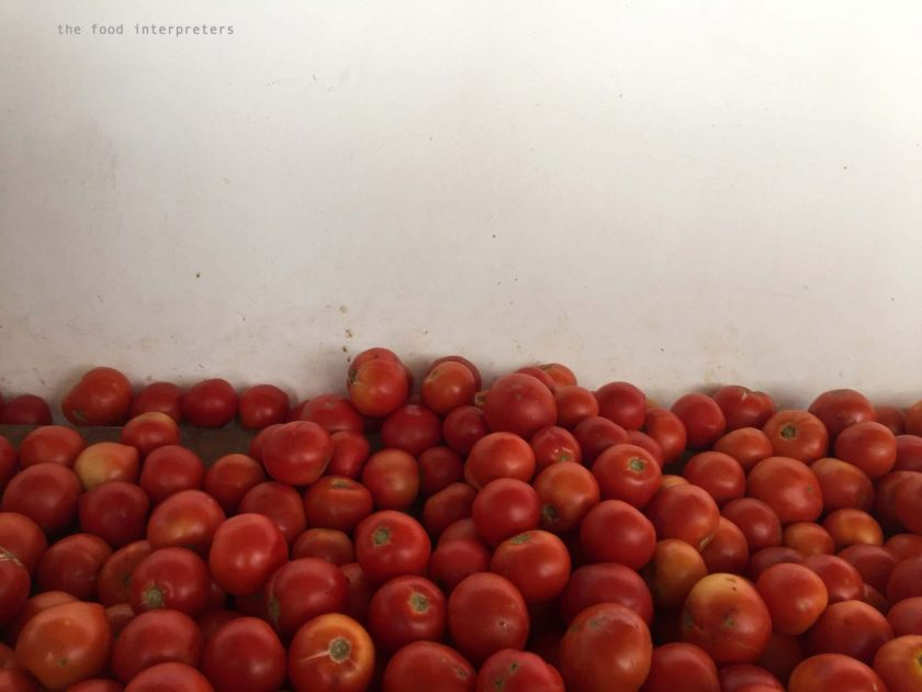 tomatoes, open fruit market