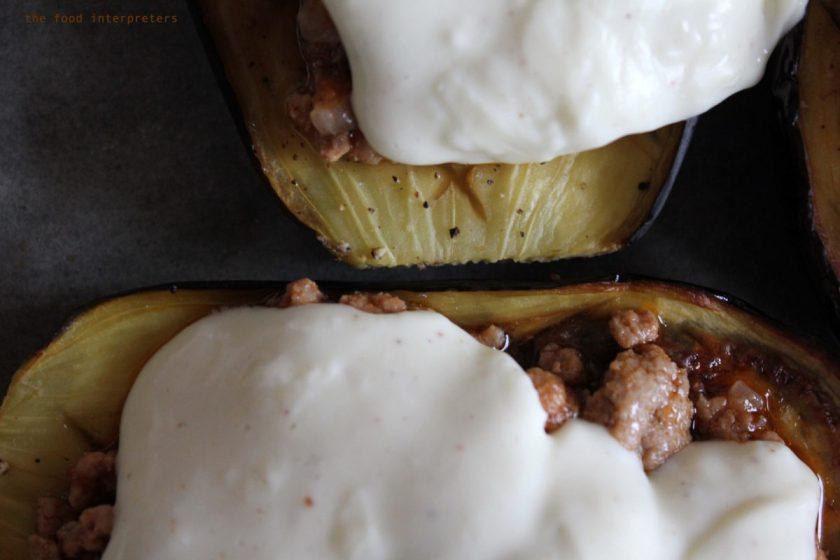 papoutsakia, an eggplant recipe