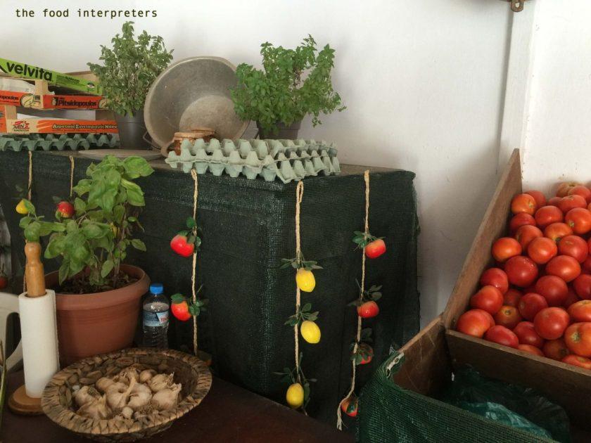 garlic, open food market, Anavyssos